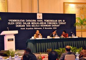 forum dialog BPK dan DPRD