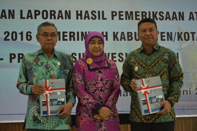 Penyerahan LHP LKPD TA 2016 Kabupaten Kepulauan Selayar